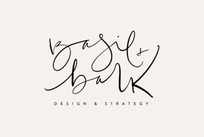 Hand lettered logo design by Tribble Design Co.