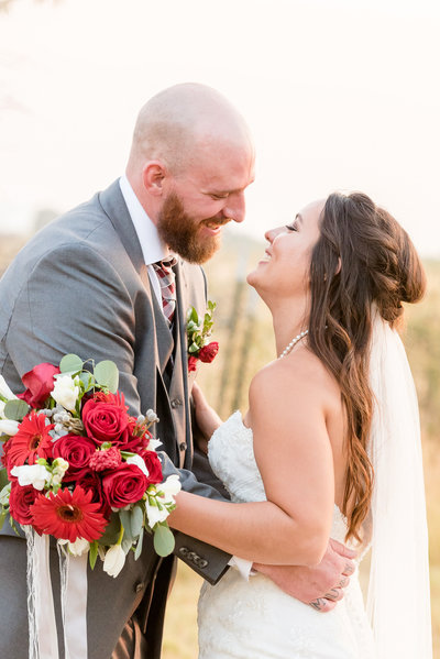 Outdoor Red and Grey Wedding-69-2
