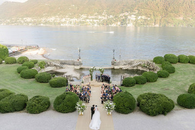 lake como wedding photographer villa erba