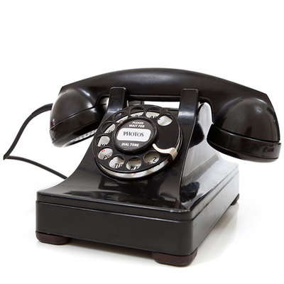 Vintage phone to contact Karissa Van Tassel Photography in New Haven, CT