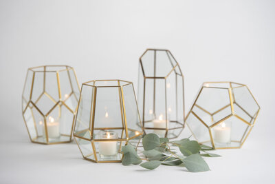 Large Geometric Lantern Rental