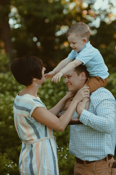 Iowa City family photography, vintage film photography