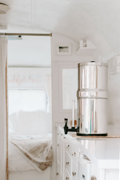 Shop our fave water filter  | Airstream RV trailer | DESIGN THE LIFE YOU WANT TO LIVE | Lynneknowlton.com |
