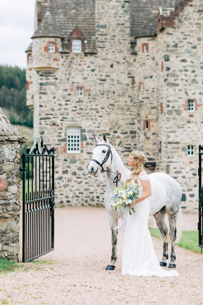 Castle Wedding Scotland Wedding Photographer