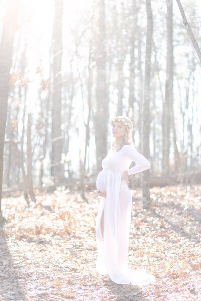 Maternity Fall Portrait