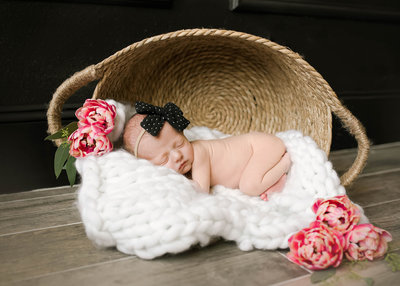 gorgeous newborn girl
