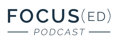 Focused Podcast Logo-navy
