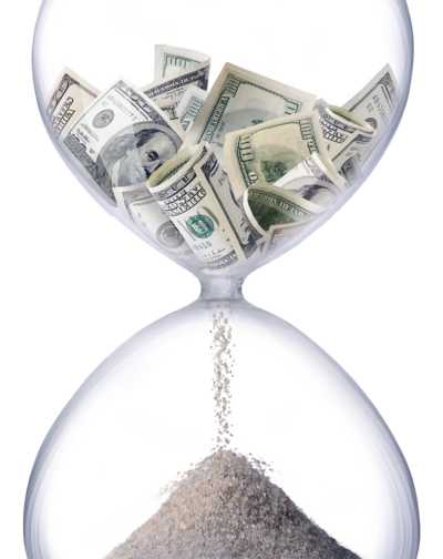 money hourglass, make more money with your interior design business