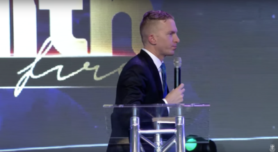 Evangelist Jonathan Shuttlesworth preaches live on Faith USA in South Africa