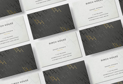 One6Creative_Birch House_Business Cards Design