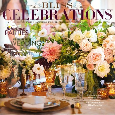 Jubilee Events featured in Bliss Celebrations 2015 issue