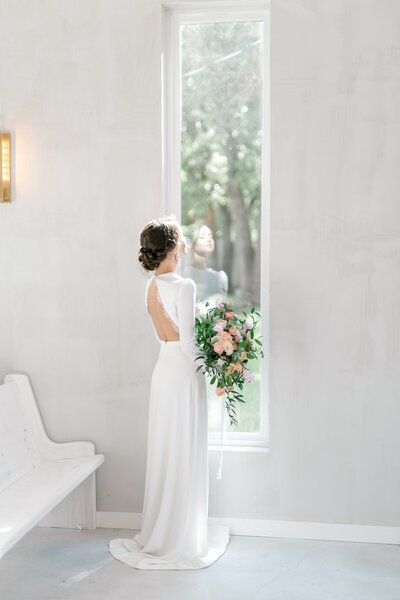 Bridal portaits by Texas photographer Marissa Merritt