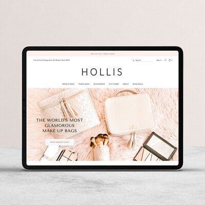hollis-shopify-website-cover