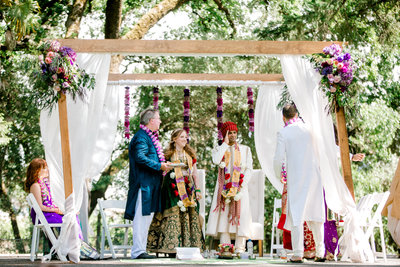 Indian wedding ceremony at Charles Krug Winery in St Helena California