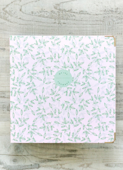 Use the Beanstalk Binder to document, track and journal about your IVF journey.