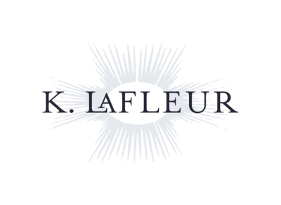 K. LaFLeur Secondary Logo DARK