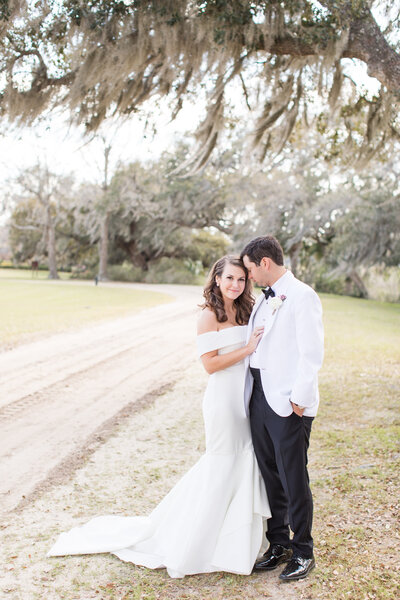 Amanda and Brent - Boone Hall Wedding - Bride and Groom Portraits - 017_
