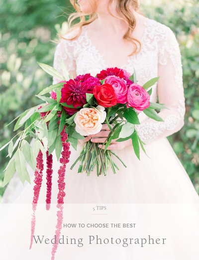 5 Tips- How to Choose the BEST Wedding Photographer