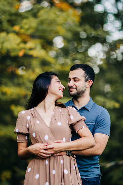 Harms Woods Glenview Engagement Fariha Wajid Photography