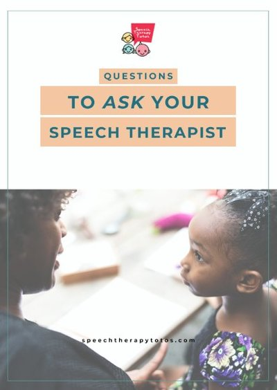 Questions to ask your speech therapist