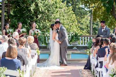Wedding Ceremony at the Lairmont Manor in Bellingham