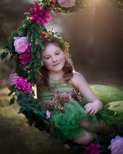 Stylized Child Portrait, Lifestyle + Dance Photography in Brockville, Ontario
