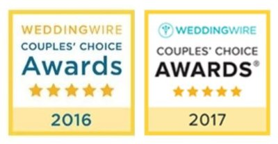 Wedding Wire Couples Choice Awards MaeWood Photography