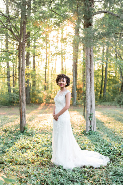 Bride at Seven Springs
