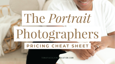 Category_Graphics_960x540_TCE_Tomayia_Colvin_Education_portrait photographers pricing cheat sheet