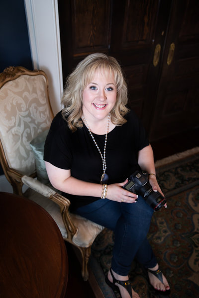 Headshot of Biloxi Wedding Photographer Kayce Stork
