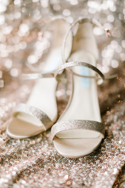 Bride's Shoes | Indianapolis Wedding Photographers
