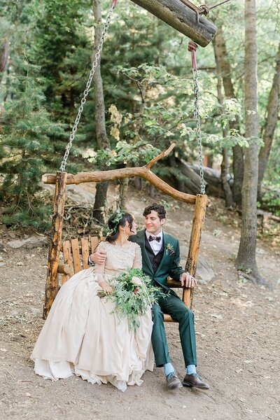 Pine Rose Cabins pop up wedding micro wedding elopement photos lake arrowhead_4392