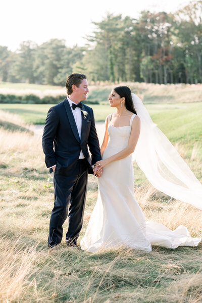 Fine art elegant wedding with Monique Lhuillier wedding gown, south of france details, italian church, and black tie in Spring Lake New Jersey by Liz Andolina Photography
