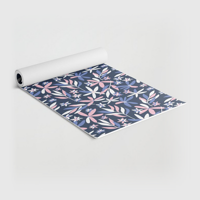PaceCreative-graphic-florals-yoga-mat