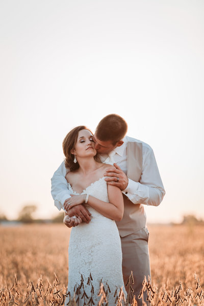 Sunfield Michigan farm wedding