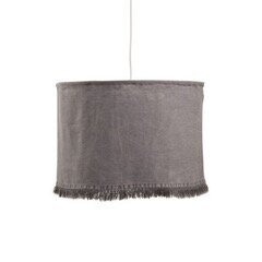 Slate Stonewashed Fringe Light Fixture