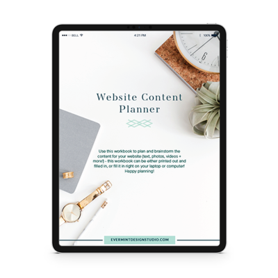 Download Your Website Content Planner
