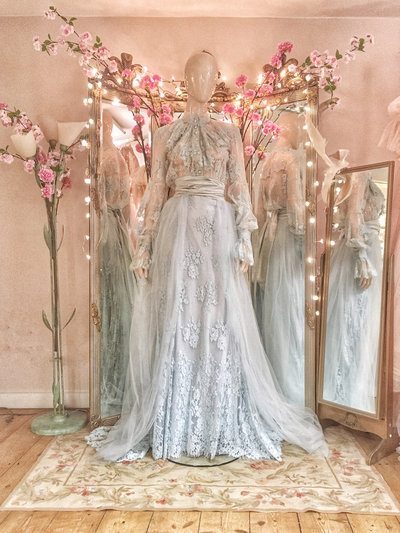 Portia-pale-blue-lace-silk-wedding-dress-bridal-separates-JoanneFlemingDesign