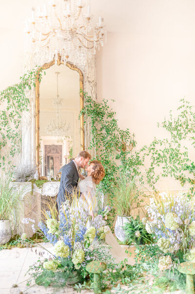 spring secret garden themed wedding