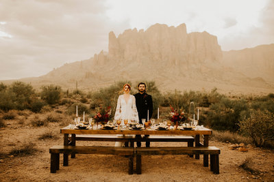 Harry and Ginny: The Wedding We Never Saw Superstition Mountain Wedding Pictures