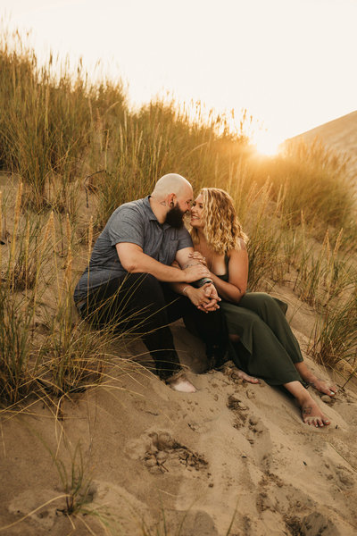 EMILY VANDEHEY PHOTOGRAPHY -- Karlie + James -- engagement -- Cape Kiwanda, Oregon-109