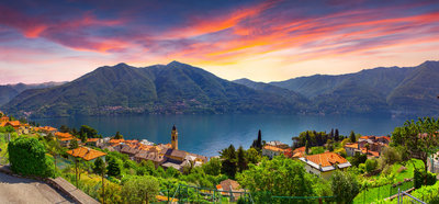 Carate Urio, on Lake Como (1)