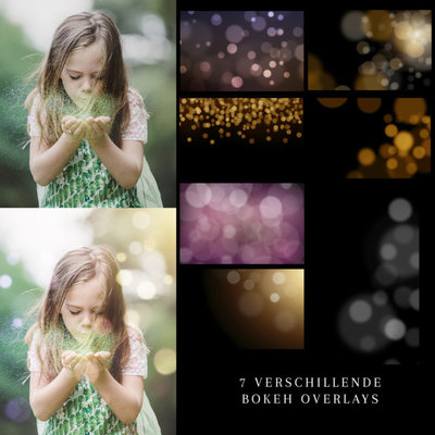Bokeh-overlays