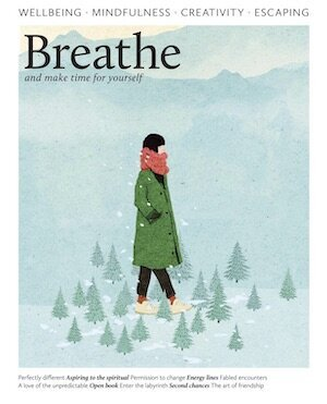 Breathe magazine cover press coverage Puja McClymont