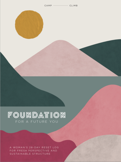 Camp Climb Foundation for a Future You Workbook Cover Spring 2020