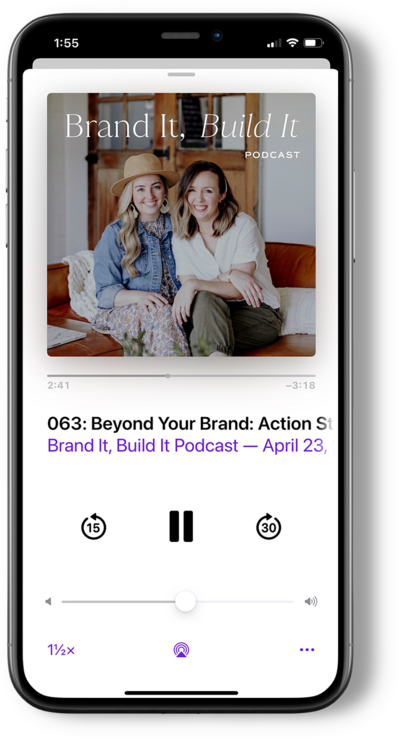 Brand It Build It Podcast by With Grace and Gold - Best Podcast for Creative Small Business Owners and Entrepreneurs 1