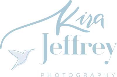 logo for Kira Jeffrey Photography