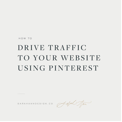 How to Drive Traffic to Your Website Using Pinterest