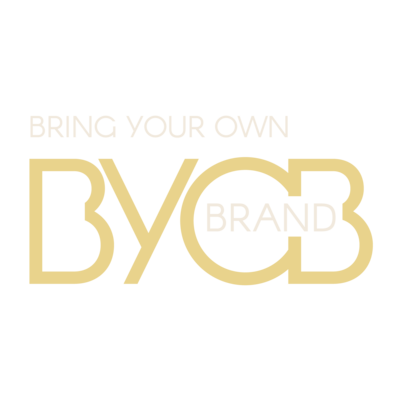 Branding Podcast - BYOBrand Podcast Logo - Transparent  - Says Bring Your Own Brand - BYOBrand