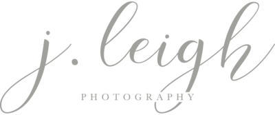 J. Leigh Photography Main Logo - Grey